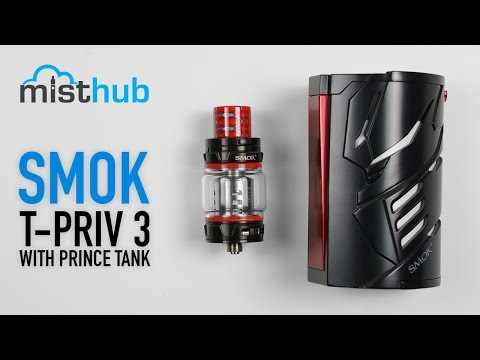 The SMOK T-Priv 3 Kit Unboxing and Quick Product Overview