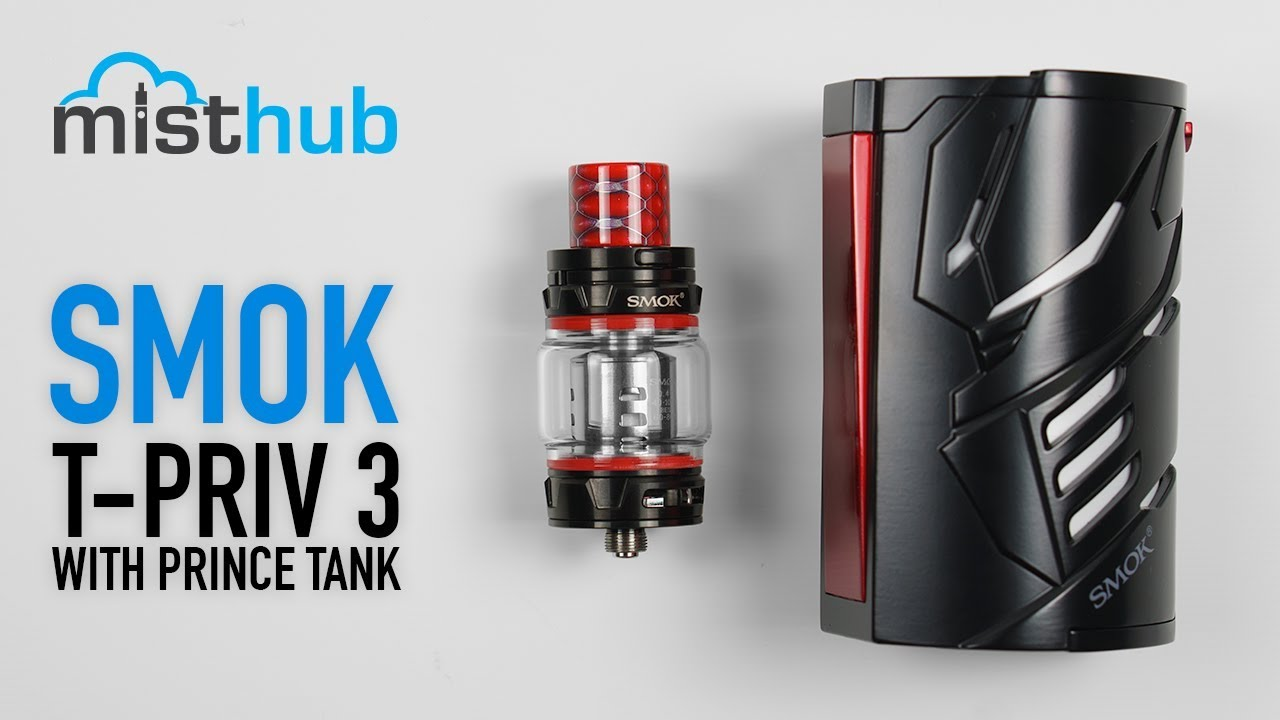 The SMOK T-Priv 3 Kit Unboxing and Quick Product Overview - YouTube