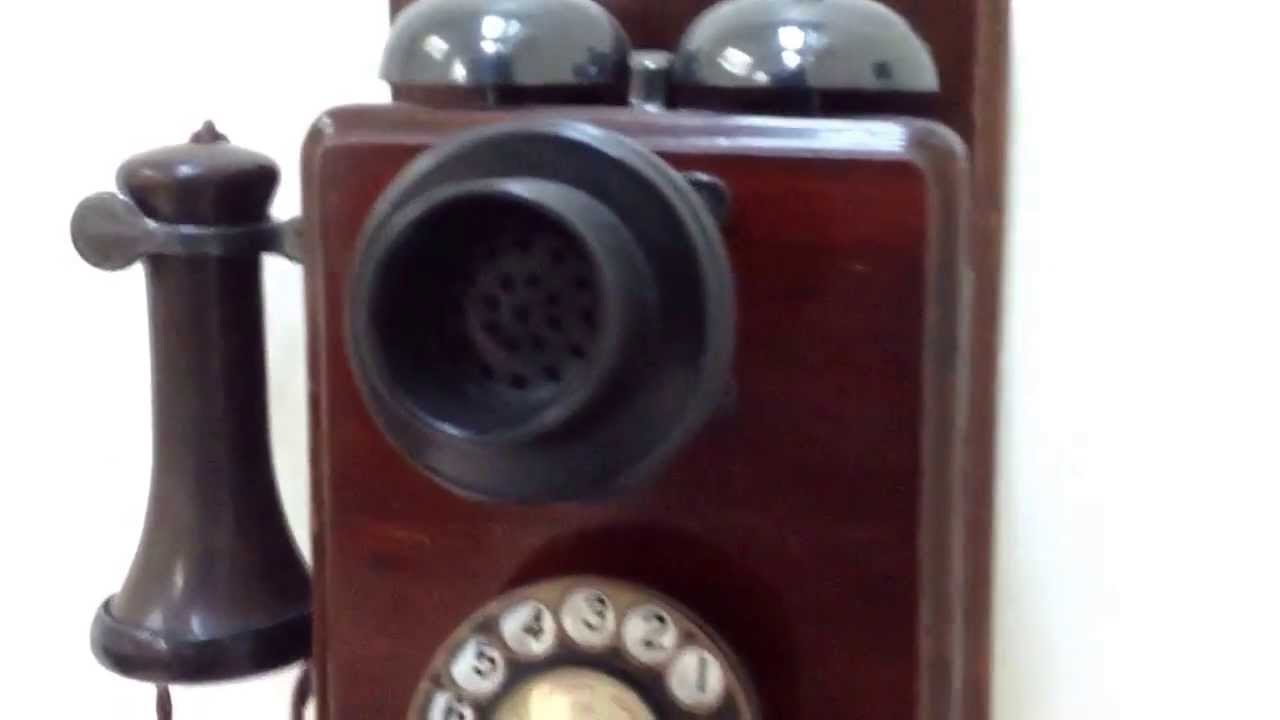 Abdy Retro Telephones Antique 1921 Wall Phone Tel No