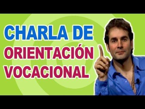 Charla de Orientación Vocacional por Javier Echevarría - Test de Orientación Vocacional