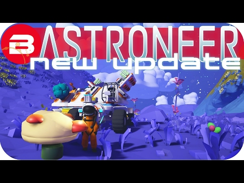 Get Astroneer Gameplay - NEW UPDATE: 🌎CIRCUMNAVIGATING THE WORLD🌍 Lets Play Astroneer Experimental Snapshots