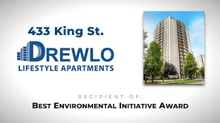 Nerva Energy   433 King St Environmental Initiative Award with Drewlo