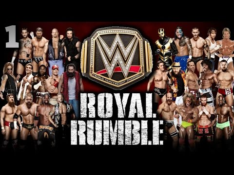 WWE 2K15 - 30 Man Royal Rumble For WWE World Heavyweight Title | Universe Mode Special [PS4]