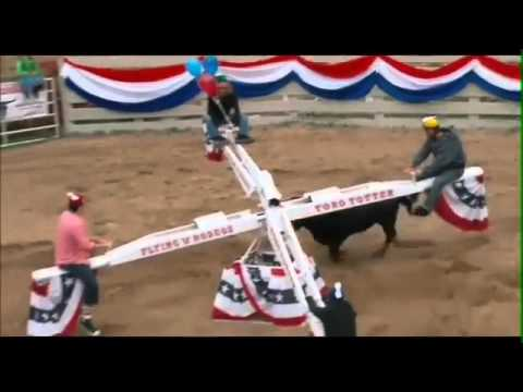 The Toro Totter Game. (CRAZY BULL)