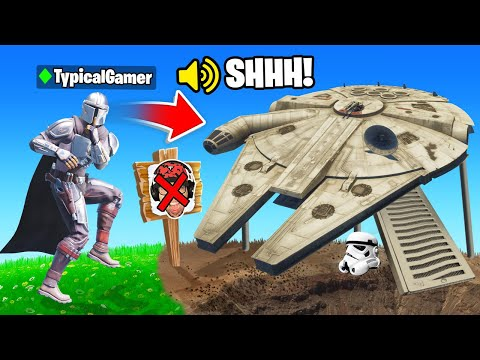 I Went UNDERCOVER in a STAR WARS Tournament! (Fortnite)