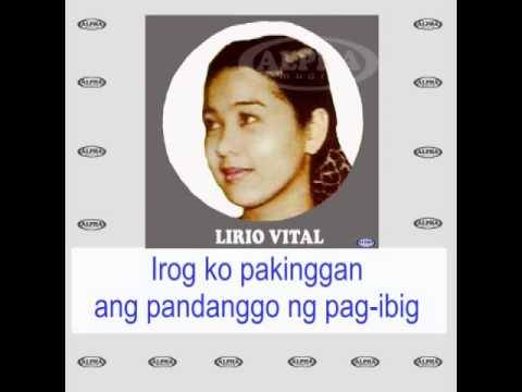 Pandanggo Ng Pag-Ibig By Lirio Vital (With Lyrics)
