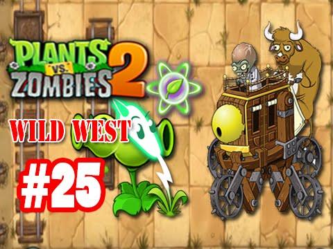 เกมส์พืชปะทะซอมบี้ 2 - ป่าตะวันตก - วันที่ 25