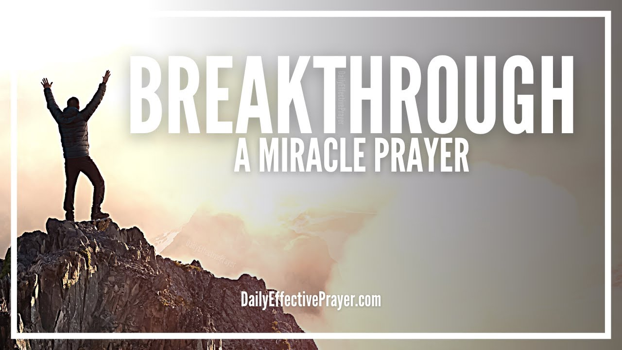 Prayer Points for Breakthrough With Bible Verses ▷ Legit ng