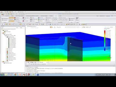 midas GTX NX - Soil Structure Interaction with Direct Method