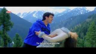 Kehna Hai Tumse Kehna - Mann (Sub Español) HD Aamir Khan y Manisha Koirala