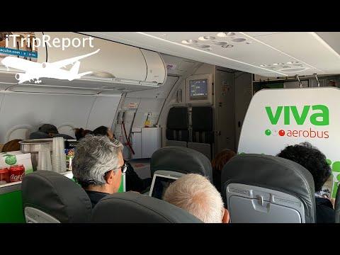 VivaAerobus A320 Review