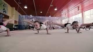 Тренировочный процесс - 2. Наш зал. Спортивная акробатика