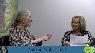 MHAGC   Ask the Professional   Kathy  Abbott