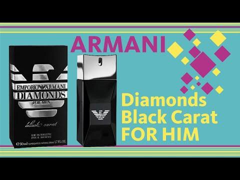 Emporio Armani Diamonds Black Carat For Men // Fragrance Review