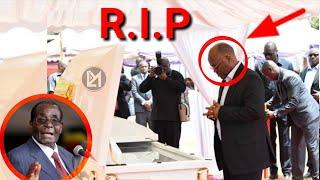 RAIS MAGUFULI AWAONGOZA MARAIS WENZAKE KWENYE MAZISHI YA ROBERT MUGABE!!