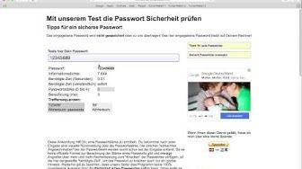 Passwort Testen | Wie sicher ist mein Kennwort [HD]