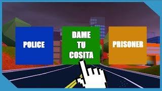 Playing As Dame Tu Cosita in Roblox Jailbreak