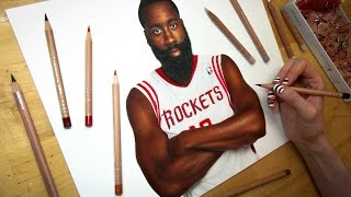 Drawing James Harden