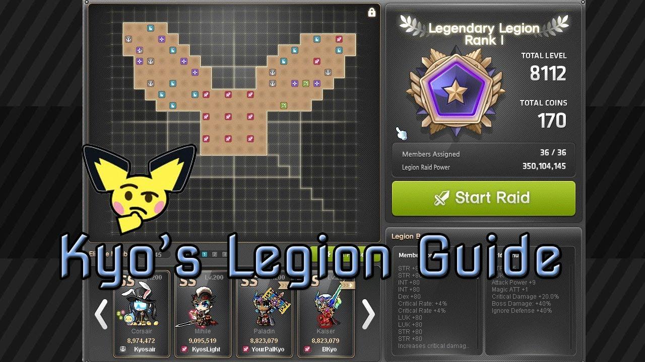 Kyo's Legion Guide (8k Legion Placement)