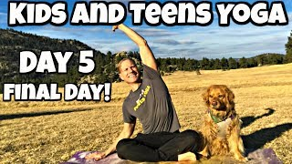 Friday - Stretch and Twist Class - Kids and Teens Yoga Program
