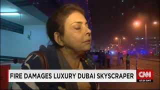 Дубай: пожар в небоскрёбе