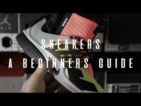 fde0fe6b33ed Sneakers - A Beginners Guide - YouTube