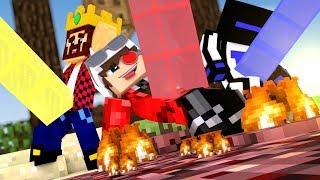 БИТВА СТОЛБОВ В 4 БИОМАХ! ЛАВОВЫЙ ДОЖДЬ! У КОГО ДЛИННЕЕ СТОЛБ? Minecraft