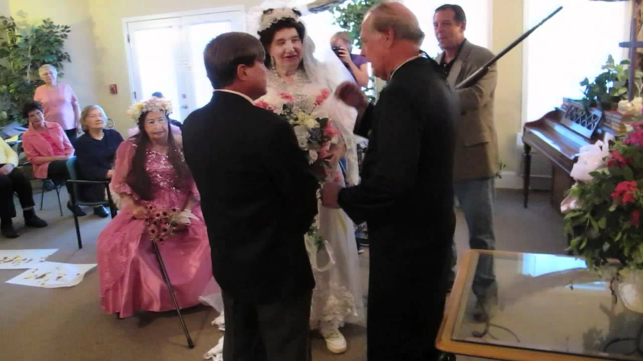 a womanless wedding