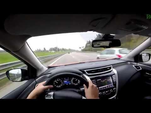 Nissan Murano трассовые возможности