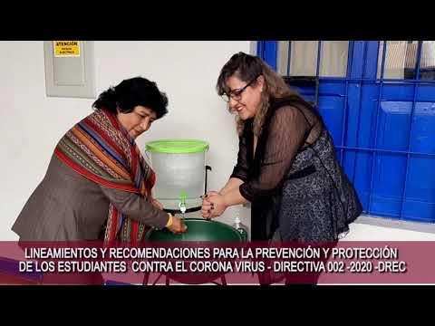 Recomendaciones para la Prevención y Protección de los Estudiantes contra el Coronavirus