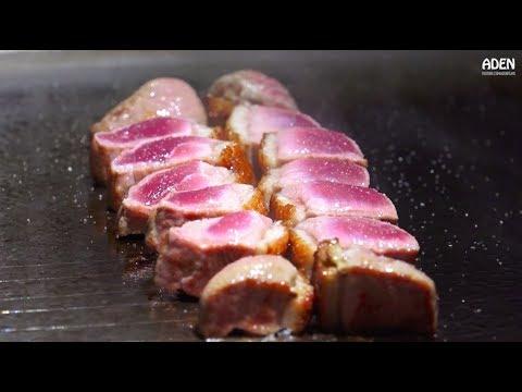 Duck & Seafood Teppanyaki in Taipei - Taiwan Gourmet Food