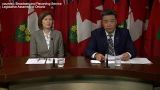 Trinity-Spadina MPP Han Dong says the Ontario government will work with Toronto to create a new property tax category giving arts and culture hubs like 401 Richmond a break.