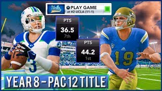 PAC-12 Championship vs #2 UCLA - NCAA Football 14 Dynasty Year 8 | Ep.144