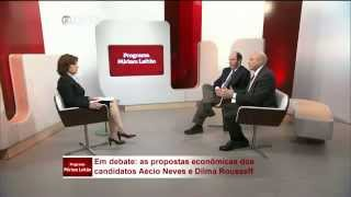 Entrevista Armínio Fraga e Guido Mantega   GloboNews (Completo)