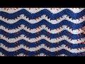 Ripple crochet pattern Узор вязания Волна 22