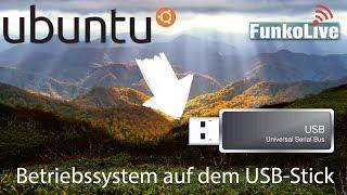 Wie man Ubuntu auf dem USB-Stick installiert | FunkoLive Erklärt
