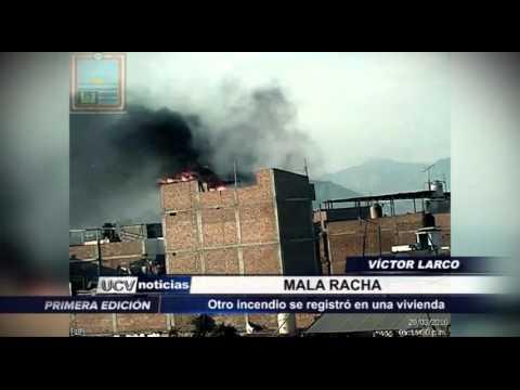 Trujillo: Incendio en Víctor Larco