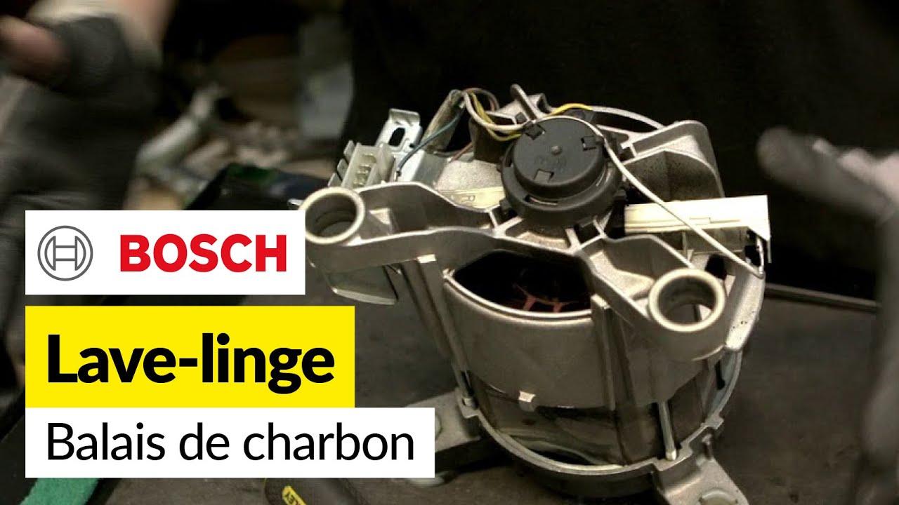 Remplacement Des Balais De Charbon Sur Un Lave Linge Bosch