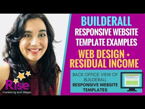 Builderall Responsive Website Templates For FREELANCE WEBSITE DESIGN & DIGITAL Marketing AGENCIES