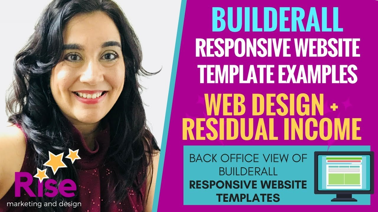 Builderall Responsive Website Templates For Freelance Website Design