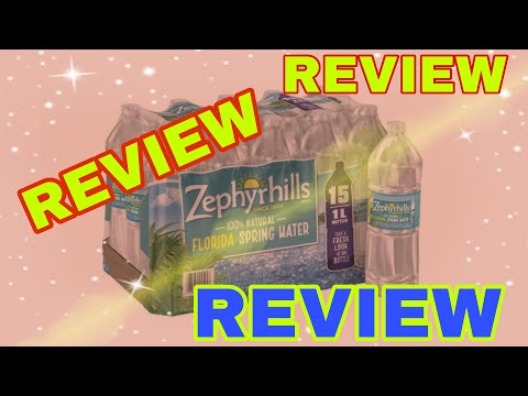Zephyrhills Spring Water 16.9 oz. Bottles 40-pack
