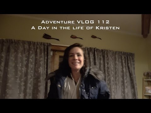 vlog 112 short nudge - A Day in the life of Kristen