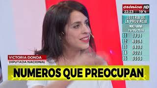 Victoria Donda y  Rafael Klekzer en  Solo Periodismo