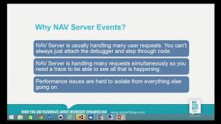 NAVTechDays2014   Monitoring & Diagnosing Microsoft Dynamics NAV Server Performance