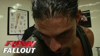Roman Reigns Gets Stapled - Raw Fallout - Aug. 4, 2014