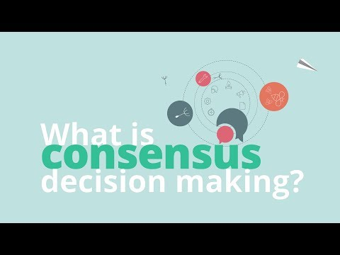 What is Consensus Decision Making?