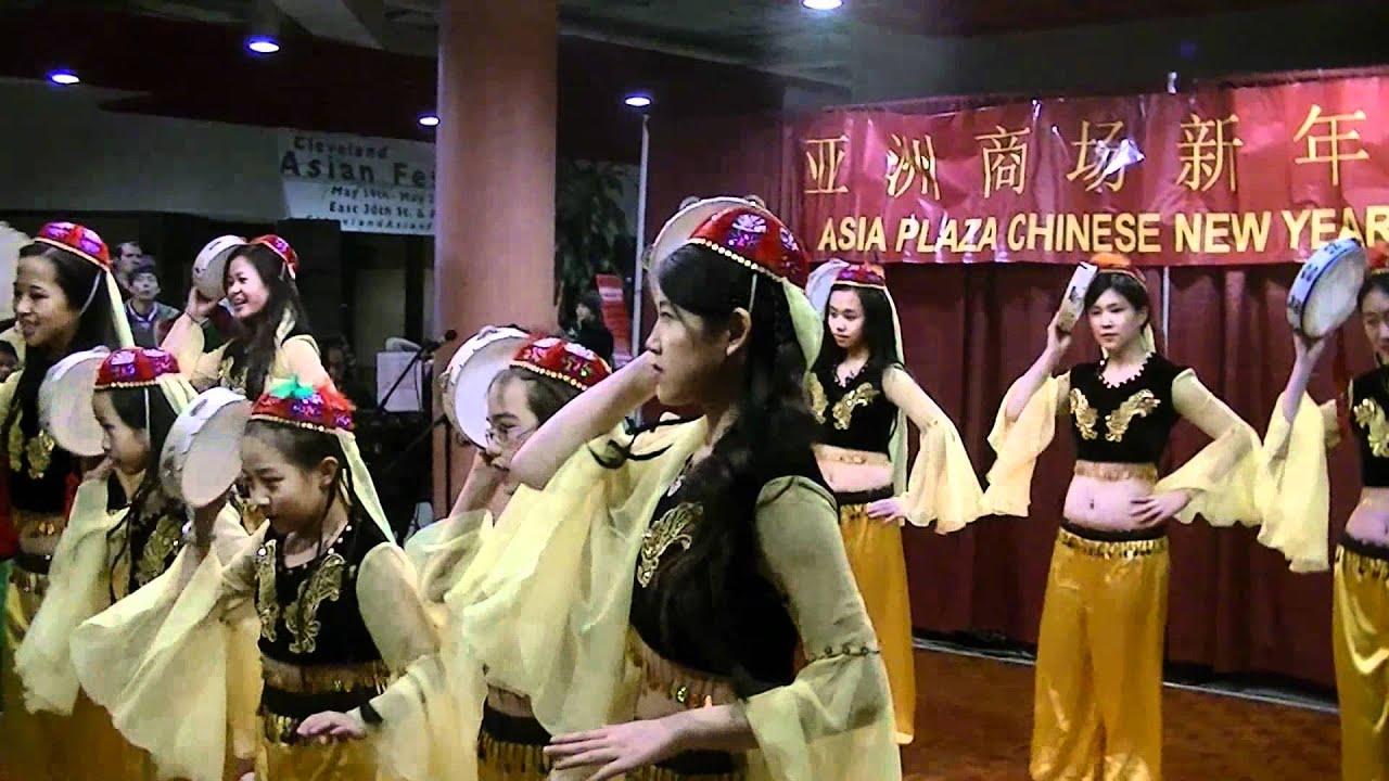 Chinese tambourine dance - Chinese New Year Cleveland ...