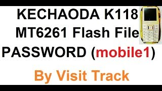 Kechaoda K118 Reset Password Video in MP4,HD MP4,FULL HD Mp4