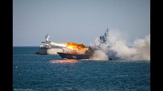 Севастополь Крым День военно-морского флота ВМФ 2018 военный парад