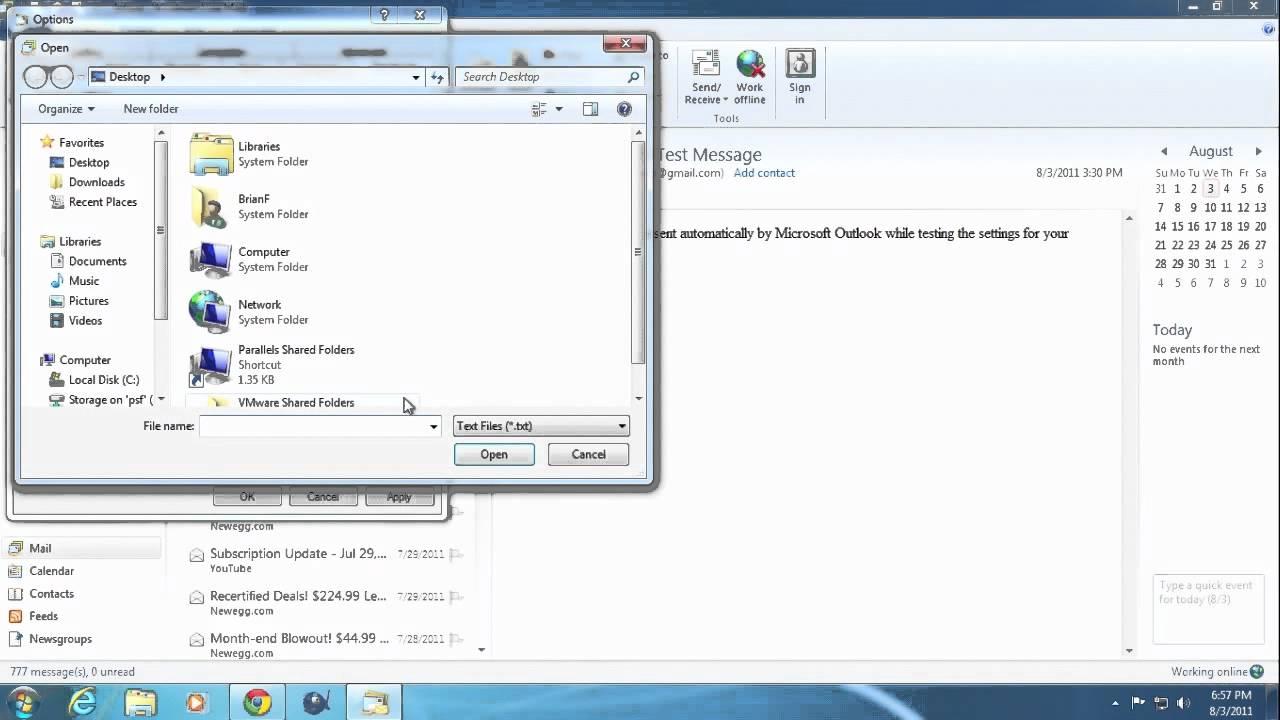 how to create a live com email
